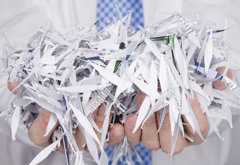 Déchiquetage de papiers, une solution aborbable
