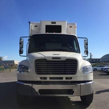 Nouveau camion de déchiquetage