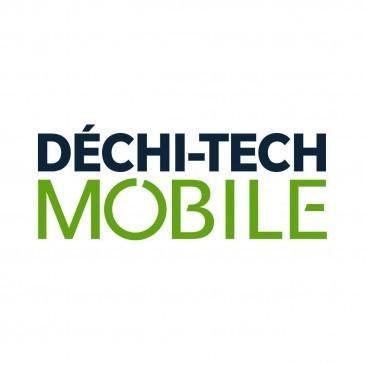 Nouveau visuel pour Déchi-tech Mobile